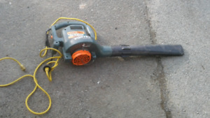 IF READING STILL AVAILABLE B&D LEAF BLOWER