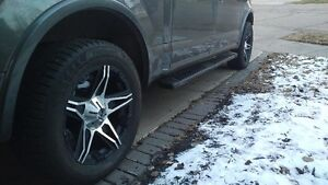 "20"" Studded Winter Tires & Rims"