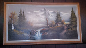 Series Of Mountains Paintings Strathcona County Edmonton Area image 4