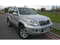 2006 56 Toyota Land Cruiser 3.0 D-4D auto LC5 +++HUGE SPEC / FULLY LOADED+++
