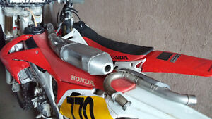 2012 crf250r stock exhaust