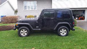 2002 Jeep Tj  pour vente EN PIECES SEULEMENT