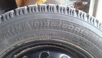 GOODYEAR NORDIC WINTER TIRES 195 / 60 R15