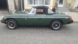 MGB for sale.