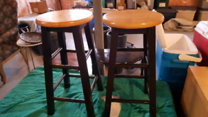 2 bar stools for $35.