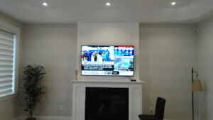 tv wall mounting, wall mount tv bracket installation for $49.99