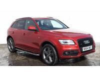 2014 Audi Q5 2014 64 Audi Q5 2.0 TDI S Line Plus Quattro 177BHP Diesel red Autom