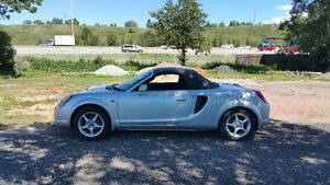 2001 Toyota MRS (MR2 Spyder Convertible)