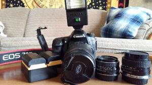 Canon 70D W/ Canon 18-135mm f/3.5-5.6 IS &More