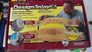 Milescraft Design/Inlay Kit 1207