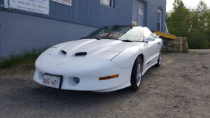 1996 Trans am convertible in mint condition