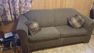 Used Green Sofa-bed - $180