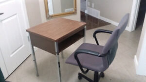 Students Study Desk and Adjustable Chair - Sturdy and Excellent