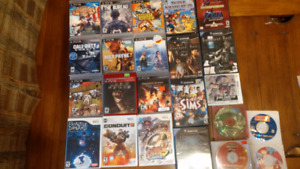 Game Lot : PS3, Wii, Gamecube, 3DS, Saturn SNES