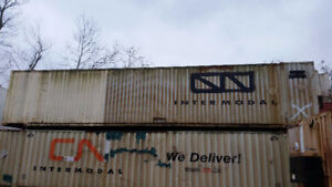 Blow Out 48' Steel Shipping Container