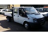 2006 / 56 Ford Transit 2.4TDCi ( 115PS ) 350L LWB Crew Cab Tipper NO VAT