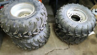 Polaris Quad Rims & Tires