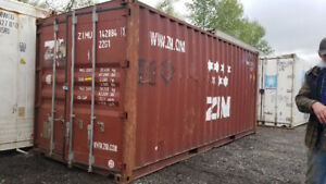 20' Cheap Steel Shipping Containers WELDERS SPECIAL !