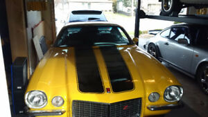 Documented 1973 4 speed Type LT Z/28, plus 2 other muscle cars