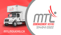MTL Moving Inc. is looking for professional Movers/DriversMTL D