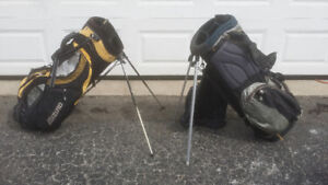 Many Adult/Kids Golf Bags, Carts, Clubse 9 Shoes  and Travel Bag