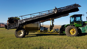 AgShield 7700 Suspended Boom 120' Pull type sprayer