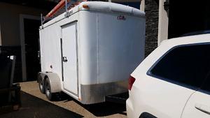 Blazer 6x12 tandem cargo trailer