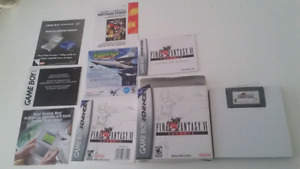 Final fantasy VI advance gameboy complet nintendo 65$.
