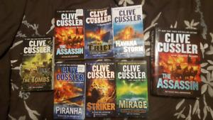 Clive Cussler Books