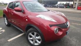2010 Nissan Juke 1.6 16v Acenta only 60553 miles fsh shrewsbury
