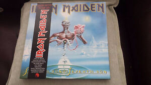 IRON MAIDEN SEVENTH SON OF A SEVENTH SON PICTURE DISC VINYL !
