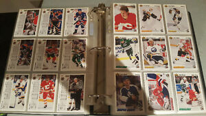 Hockey cards complete set