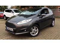 2016 Ford Fiesta 1.25 82 Zetec 3dr Manual Petrol Hatchback