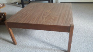 Strong Wooden Coffee Table - Moving out sale...