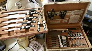 German Knife set & Carrying / Storage case Kawartha Lakes Peterborough Area image 2