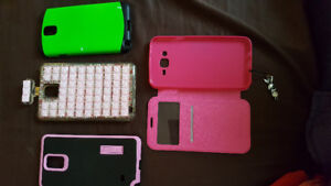 Samsung Galaxy Note3 White Color 32GB. Otter Box OG Case