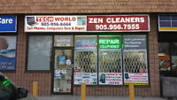 CELLPHONE STORE AND COMPUTER STORE WITH DRY CLEAN DEPOT, BE YOUR