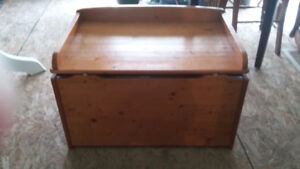 Solid Pine Chest/Box