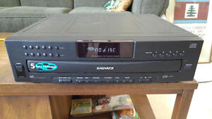 Disc Player for stereo system, 5 discs  only $25
