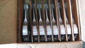 brooks aluminum used rod set(8)smb-gm 5.7  2.225 end