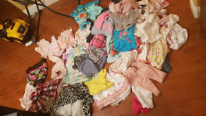 6-12 month lots of babygirl summer clothes