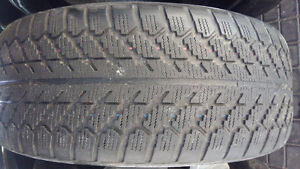 WINTER TIRES   225 / 55/r17    (2 TIRES $65 )