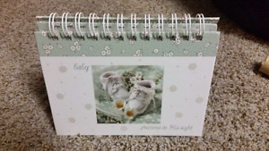 Baby Photo album - sits on table top