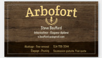 ARBOFORT Services d'arbre. Tree services. 514-758-3044