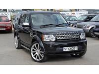 2010 LAND ROVER DISCOVERY 4 TDV6 HSE SANTORINI BLACK WITH 22 INCH WHEEL OPTION