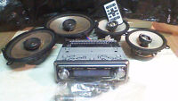 Pioneer MOSFET 50Wx4 Car Stereo & Speakers