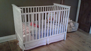 Beautiful Crib & Change Table Set