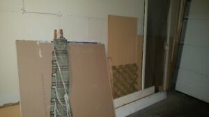 free drywall and wood.
