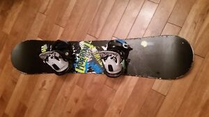 Morrow Blaze 128 with bindings