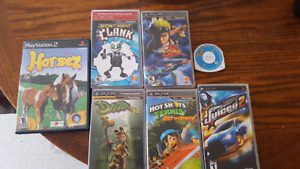 PSP and PS2 Games